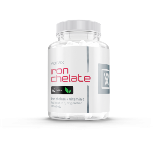 Viarax Iron Chelate + Vitamin C
